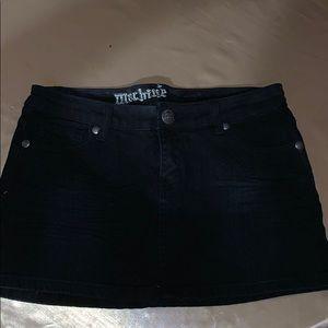 Machine Brand Jeans Skirt